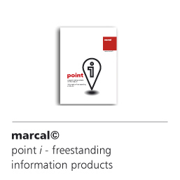 point i, marcal solutions for free-standing information supports