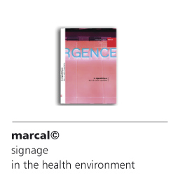 marcal signage solutions in the field of health and the hospital environment