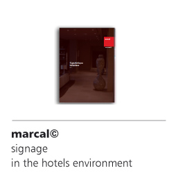 marcal's signage solutions for hotels and tourist accommodations