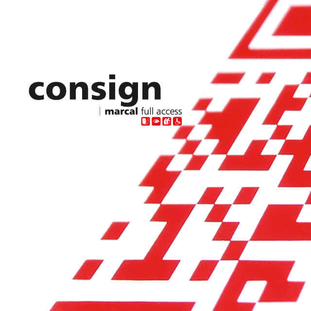 general fire safety instructions accessible by QR-code and NFX 08-070 | consign© marcal