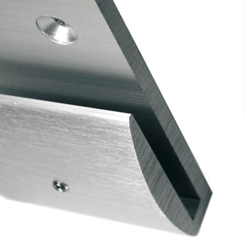 aluminum wall sign bracket | opalescent© marcal