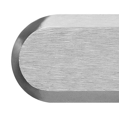 brushed stainless steel 316L tactile bar | podoinox© marcal